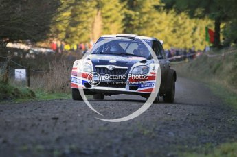 © North One Sport Limited 2010/ Octane Photographic Ltd. 2010 WRC Great Britain, Saturday 13th November 2010. Digital ref : 0119cb1d1654