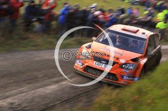 © North One Sport Limited 2010/ Octane Photographic Ltd. 2010 WRC Great Britain, Saturday 13th November 2010. Digital ref : 0119lw1d3420
