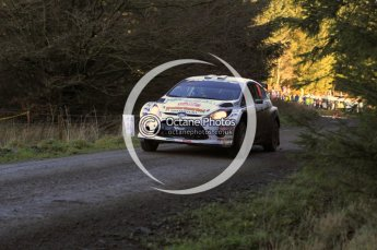 © North One Sport Limited 2010/ Octane Photographic Ltd. 2010 WRC Great Britain, Saturday 13th November 2010. Digital ref : 0119lw1d3694
