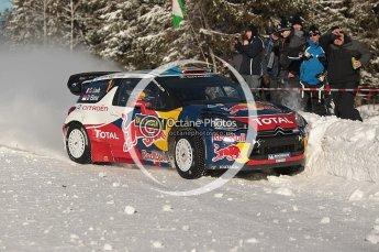 © North One Sport Limited 2011/Octane Photographic Ltd. 2011 WRC Sweden SS19 Torntorp II, Sunday 13th February 2011, Sebastien Loeb/Daniel Elena, Citroen DS3 WRC. Digital ref : 0155CB1D9520