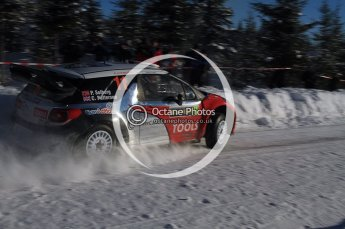 © North One Sport Limited 2011/Octane Photographic Ltd. 2011 WRC Sweden SS19 Torntorp II, Sunday 13th February 2011. Digital ref : 0155LW7D9530