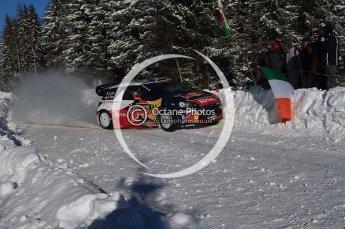 © North One Sport Limited 2011/Octane Photographic Ltd. 2011 WRC Sweden SS19 Torntorp II, Sunday 13th February 2011, Sebastien Loeb/Daniel Elena, Citroen DS3 WRC. Digital ref : 0155LW7D9546