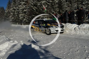 © North One Sport Limited 2011/Octane Photographic Ltd. 2011 WRC Sweden SS19 Torntorp II, Sunday 13th February 2011. Digital ref : 0155LW7D9575