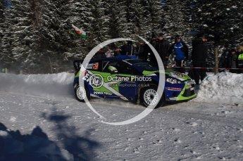 © North One Sport Limited 2011/Octane Photographic Ltd. 2011 WRC Sweden SS19 Torntorp II, Sunday 13th February 2011. Digital ref : 0155LW7D9587