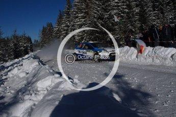 © North One Sport Limited 2011/Octane Photographic Ltd. 2011 WRC Sweden SS19 Torntorp II, Sunday 13th February 2011. Digital ref : 0155LW7D9609