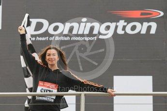 World © Octane Photographic Ltd. 5th February 2016 – Donington Park Racetrack. Suzi Perry launches the 2016 Donington Park Summer Running Festival. Digital Ref : 1500CB1D0447
