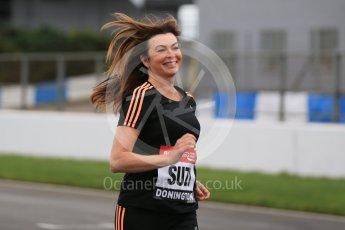 World © Octane Photographic Ltd. 5th February 2016 – Donington Park Racetrack. Suzi Perry launches the 2016 Donington Park Summer Running Festival. Digital Ref : 1500LB1D6585