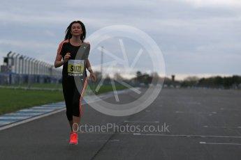 World © Octane Photographic Ltd. 5th February 2016 – Donington Park Racetrack. Suzi Perry launches the 2016 Donington Park Summer Running Festival. Digital Ref : 1500LB1D6638