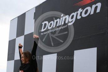 World © Octane Photographic Ltd. 5th February 2016 – Donington Park Racetrack. Suzi Perry launches the 2016 Donington Park Summer Running Festival. Digital Ref : 1500LB5D6298