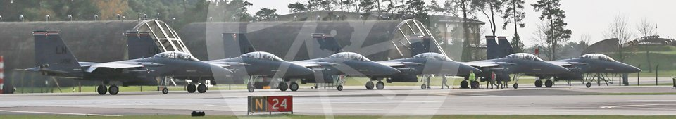 """World © Octane Photographic Ltd. RAF Lakenheath operations 16th November 2015, USAF (United States Air Force) 48th Fighter Wing """"Statue of Liberty Wing"""" 494 Fighter Squadron """"Panthers"""", McDonnell Douglas F-15E Strike Eagle. Digital Ref : 1469CB1D3491"""
