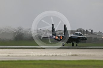 """World © Octane Photographic Ltd. RAF Lakenheath operations 16th November 2015, USAF (United States Air Force) 48th Fighter Wing """"Statue of Liberty Wing"""" 494 Fighter Squadron """"Panthers"""", McDonnell Douglas F-15E Strike Eagle. Digital Ref : 1469CB1D3548"""