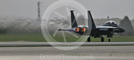 """World © Octane Photographic Ltd. RAF Lakenheath operations 16th November 2015, USAF (United States Air Force) 48th Fighter Wing """"Statue of Liberty Wing"""" 494 Fighter Squadron """"Panthers"""", McDonnell Douglas F-15E Strike Eagle. Digital Ref : 1469CB1D3600"""