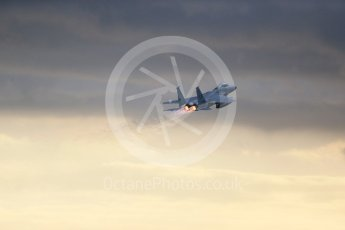 """World © Octane Photographic Ltd. RAF Lakenheath operations 16th November 2015, USAF (United States Air Force) 48th Fighter Wing """"Statue of Liberty Wing"""" 493 Fighter Squadron """"The Grim Reapers"""", McDonnell Douglas F-15C Eagle LN 86-178. Digital Ref : 1469CB1D4224"""