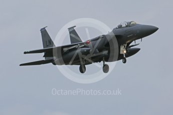 """World © Octane Photographic Ltd. RAF Lakenheath operations 16th November 2015, USAF (United States Air Force) 48th Fighter Wing """"Statue of Liberty Wing"""" 492 Fighter Squadron """"Madhatters"""", McDonnell Douglas F-15E Strike Eagle. Digital Ref : 1469CB7D0224"""