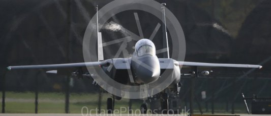 """World © Octane Photographic Ltd. RAF Lakenheath operations 16th November 2015, USAF (United States Air Force) 48th Fighter Wing """"Statue of Liberty Wing"""" 494 Fighter Squadron """"Panthers"""", McDonnell Douglas F-15E Strike Eagle LN 98-132. Digital Ref : 1469CB7D0323"""