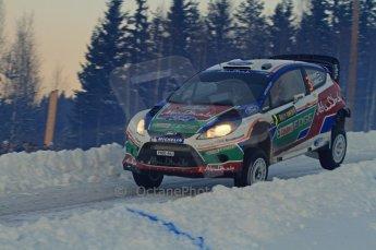 © North One Sport Limited 2011/Octane Photographic Ltd. 2011 WRC Sweden SS15 Varmulssen, Saturday 12th February 2011. Digital ref : 0157LW7D9240