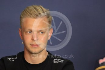 World © Octane Photographic Ltd. F1 Austrian GP FIA Drivers' Press Conference, Red Bull Ring, Spielberg, Austria. Thursday 30th June 2016. Renault Sport F1 Team - Kevin Magnussen. Digital Ref :1596LB1D4978