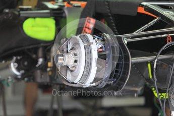 World © Octane Photographic Ltd. Sahara Force India VJM09. Thursday 30th June 2016, F1 Austrian GP Pit Lane, Red Bull Ring, Spielberg, Austria. Digital Ref : 1594CB1D1443