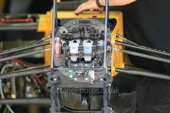 World © Octane Photographic Ltd. Renault Sport F1 Team RS16. Thursday 30th June 2016, F1 Austrian GP Pit Lane, Red Bull Ring, Spielberg, Austria. Digital Ref : 1594CB1D1446