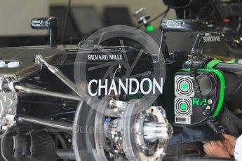 World © Octane Photographic Ltd. McLaren Honda MP4-31. Thursday 30th June 2016, F1 Austrian GP Pit Lane, Red Bull Ring, Spielberg, Austria. Digital Ref : 1594CB1D1477
