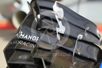 World © Octane Photographic Ltd. Manor Racing MRT05. Thursday 30th June 2016, F1 Austrian GP Pit lane, Red Bull Ring, Spielberg, Austria. Digital Ref : 1594CB1D1524