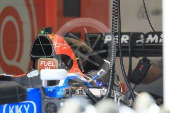 World © Octane Photographic Ltd. Manor Racing MRT05. Thursday 30th June 2016, F1 Austrian GP Pit lane, Red Bull Ring, Spielberg, Austria. Digital Ref : 1594CB1D1526