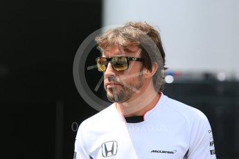 World © Octane Photographic Ltd. McLaren Honda MP4-31 – Fernando Alonso. Thursday 30th June 2016, F1 Austrian GP Paddock, Red Bull Ring, Spielberg, Austria. Digital Ref :1594CB5D2502