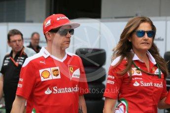 World © Octane Photographic Ltd. Scuderia Ferrari SF16-H – Kimi Raikkonen. Thursday 30th June 2016, F1 Austrian GP Paddock, Red Bull Ring, Spielberg, Austria. Digital Ref :1594CB5D2612