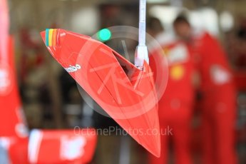 "World © Octane Photographic Ltd. Scuderia Ferrari SF16-H – pitstop contol ""Traffic light"". Thursday 24th November 2016, F1 Abu Dhabi GP - Pitlane, Yas Marina circuit, Abu Dhabi. Digital Ref :"