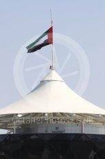 World © Octane Photographic Ltd. UAE Flag. Thursday 24th November 2016, F1 Abu Dhabi GP - Pitlane, Yas Marina circuit, Abu Dhabi. Digital Ref :