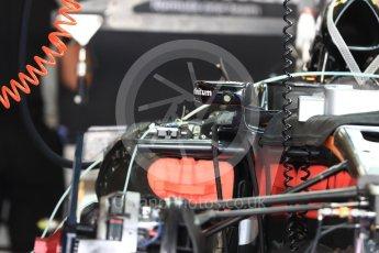 World © Octane Photographic Ltd. McLaren Honda MP4-31. Thursday 24th November 2016, F1 Abu Dhabi GP - Pitlane, Yas Marina circuit, Abu Dhabi. Digital Ref :