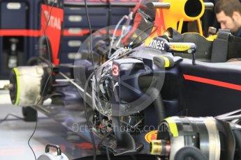 World © Octane Photographic Ltd. Red Bull Racing RB12 – Daniel Ricciardo side pod. Friday 25th November 2016, F1 Abu Dhabi GP - Practice 1, Yas Marina circuit, Abu Dhabi. Digital Ref :