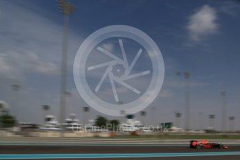 World © Octane Photographic Ltd. Red Bull Racing RB12 – Max Verstappen. Friday 25th November 2016, F1 Abu Dhabi GP - Practice 1, Yas Marina circuit, Abu Dhabi. Digital Ref : 1756LB2D7181