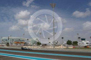World © Octane Photographic Ltd. Mercedes AMG Petronas W07 Hybrid – Lewis Hamilton. Friday 25th November 2016, F1 Abu Dhabi GP - Practice 1. Yas Marina circuit, Abu Dhabi. Digital Ref : 1756LB2D7195