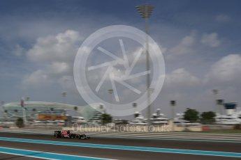 World © Octane Photographic Ltd. Scuderia Toro Rosso STR11 – Daniil Kvyat. Friday 25th November 2016, F1 Abu Dhabi GP - Practice 1, Yas Marina circuit, Abu Dhabi. Digital Ref : 1756LB2D7280