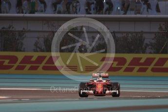 World © Octane Photographic Ltd. Scuderia Ferrari SF16-H – Sebastian Vettel. Friday 25th November 2016, F1 Abu Dhabi GP - Practice 2, Yas Marina circuit, Abu Dhabi. Digital Ref :