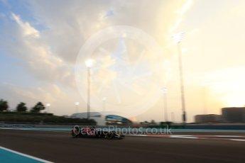 World © Octane Photographic Ltd. Scuderia Toro Rosso STR11 – Daniil Kvyat. Friday 25th November 2016, F1 Abu Dhabi GP - Practice 2, Yas Marina circuit, Abu Dhabi. Digital Ref :
