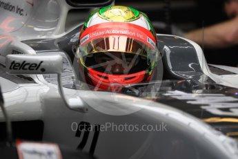 World © Octane Photographic Ltd. Haas F1 Team VF-16 - Esteban Gutierrez. Saturday 26th November 2016, F1 Abu Dhabi GP - Practice 3, Yas Marina circuit, Abu Dhabi. Digital Ref :