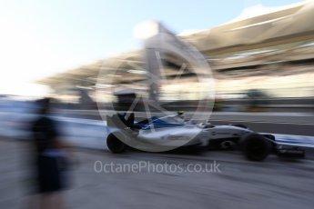 World © Octane Photographic Ltd. Williams Martini Racing, Williams Mercedes FW38 – Valtteri Bottas. Saturday 26th November 2016, F1 Abu Dhabi GP - Practice 3, Yas Marina circuit, Abu Dhabi. Digital Ref :
