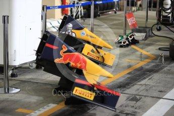World © Octane Photographic Ltd. Prema Racing - GP2/11 nose cones – Pierre Gasly and Antonia Giovinazzi. Saturday 26th November 2016, GP2 Race 1, Yas Marina Circuit, Abu Dhabi. Digital Ref :