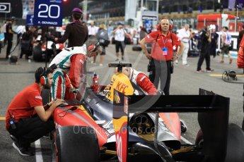World © Octane Photographic Ltd. Prema Racing - GP2/11 – Antonia Giovinazzi. Saturday 26th November 2016, GP2 Race 1, Yas Marina Circuit, Abu Dhabi. Digital Ref :
