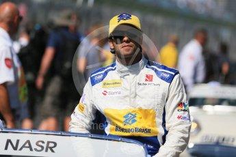 World © Octane Photographic Ltd. Sauber F1 Team – Felipe Nasr. Sunday 20th March 2016, F1 Australian GP - Drivers Parade, Melbourne, Albert Park, Australia. Digital Ref : 1523LB1D6381