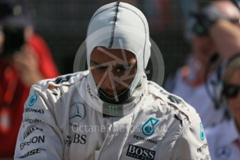 World © Octane Photographic Ltd. Mercedes AMG Petronas – Lewis Hamilton. Sunday 20th March 2016, F1 Australian GP - Grid, Melbourne, Albert Park, Australia. Digital Ref : 1523LB1D6774
