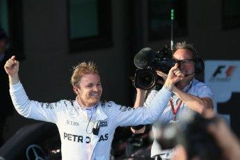 World © Octane Photographic Ltd. Mercedes AMG Petronas – Nico Rosberg. Sunday 20th March 2016, F1 Australian GP Race - Parc Ferme, Melbourne, Albert Park, Australia. Digital Ref : 1525LB1D7503