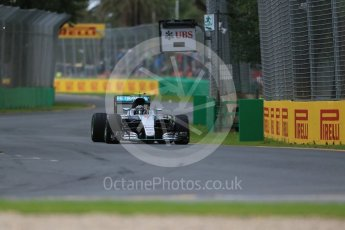 World © Octane Photographic Ltd. Mercedes AMG Petronas W07 Hybrid – Nico Rosberg. Friday 18th March 2016, F1 Australian GP Practice 1, Melbourne, Albert Park, Australia. Digital Ref : 1516LB1D2032