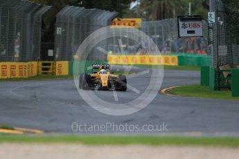 World © Octane Photographic Ltd. Renault Sport F1 Team RS16 - Kevin Magnussen.. Friday 18th March 2016, F1 Australian GP Practice 1, Melbourne, Albert Park, Australia. Digital Ref : 1516LB1D2043