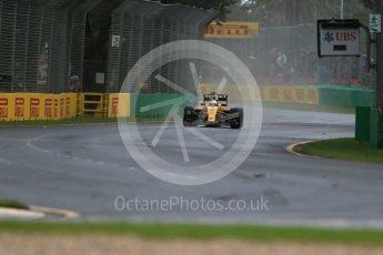 World © Octane Photographic Ltd. Renault Sport F1 Team RS16 - Kevin Magnussen.. Friday 18th March 2016, F1 Australian GP Practice 1, Melbourne, Albert Park, Australia. Digital Ref : 1516LB1D2505