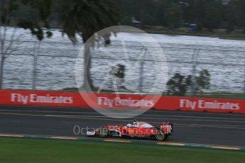 World © Octane Photographic Ltd. Scuderia Ferrari SF16-H – Sebastian Vettel. Friday 18th March 2016, F1 Australian GP Practice 1, Melbourne, Albert Park, Australia. Digital Ref : 1516LB1D2811