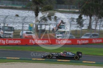 World © Octane Photographic Ltd. McLaren Honda MP4-31 – Jenson Button. Friday 18th March 2016, F1 Australian GP Practice 1, Melbourne, Albert Park, Australia. Digital Ref : 1516LB1D2867