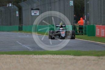 World © Octane Photographic Ltd. McLaren Honda MP4-31 – Jenson Button. Friday 18th March 2016, F1 Australian GP Practice 1, Melbourne, Albert Park, Australia. Digital Ref : 1516LB1D2898